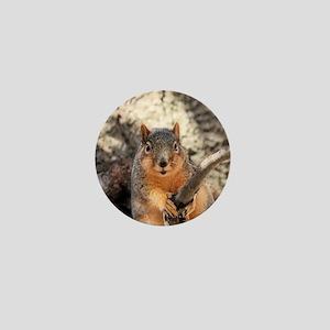 Squirrel Mini Button