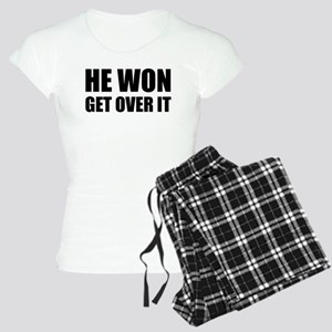 He Won Get Over It! Bold Women's Light Pajamas