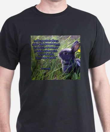 If this isn't nice, I don't know what is. T-Shirt