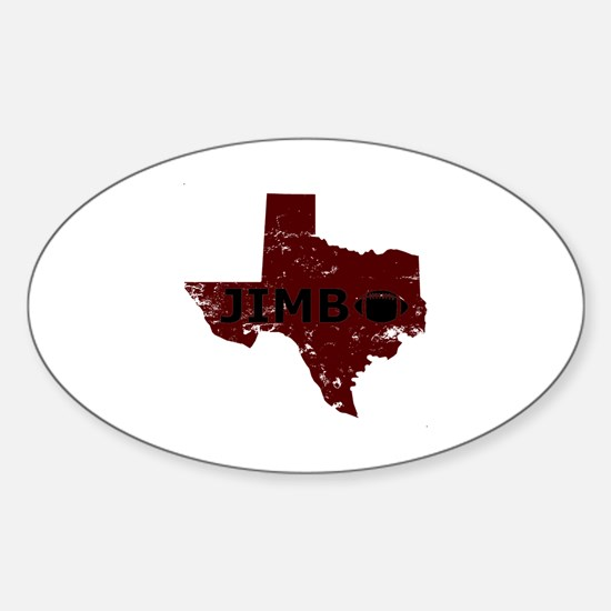 Cute Aggie Sticker (Oval)