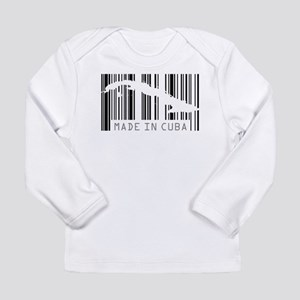 Made in Cuba Barcode Long Sleeve T-Shirt