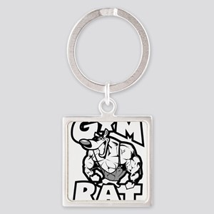 Gym Rat b/w Keychains