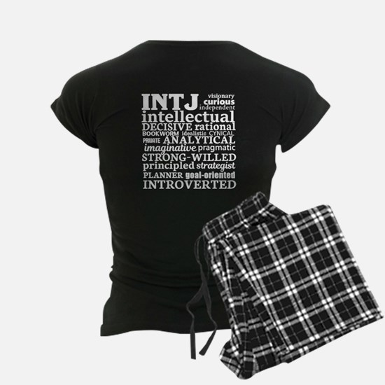 INTJ Personality Type Pajamas