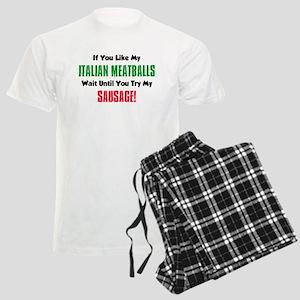 Italian Meatball Sausage Shirt Pajamas