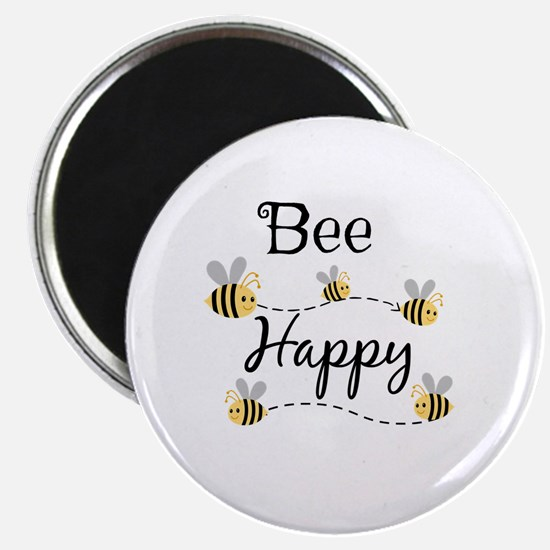 Unique Bee happy Magnet