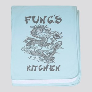 Fung's Chinese Kitchen baby blanket