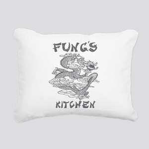 Fung's Chinese Kitchen Rectangular Canvas Pillow