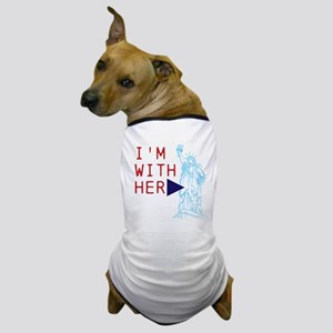 Stand with Lady Liberty Dog T-Shirt