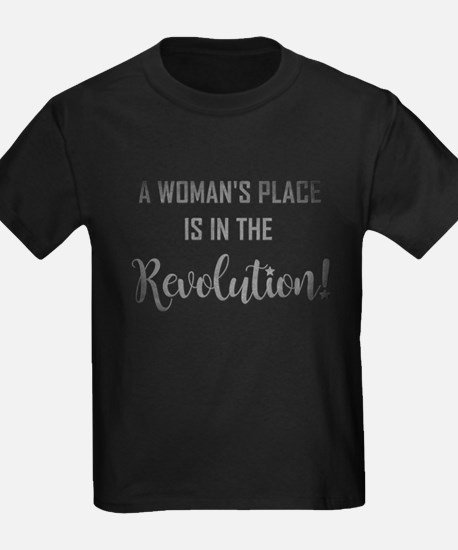 A WOMAN'S PLACE... T