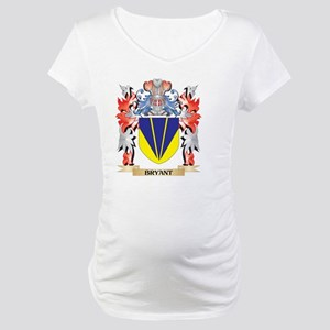 Bryant Coat of Arms - Family Cre Maternity T-Shirt