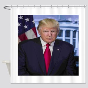 President Donald Trump Shower Curtain