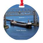 Quebecois Duluth Round Ornament