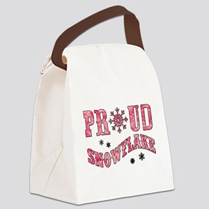 PROUD SNOWFLAKE Canvas Lunch Bag