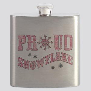 PROUD SNOWFLAKE Flask