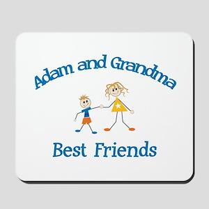 Adam & Grandma - Best Friends Mousepad