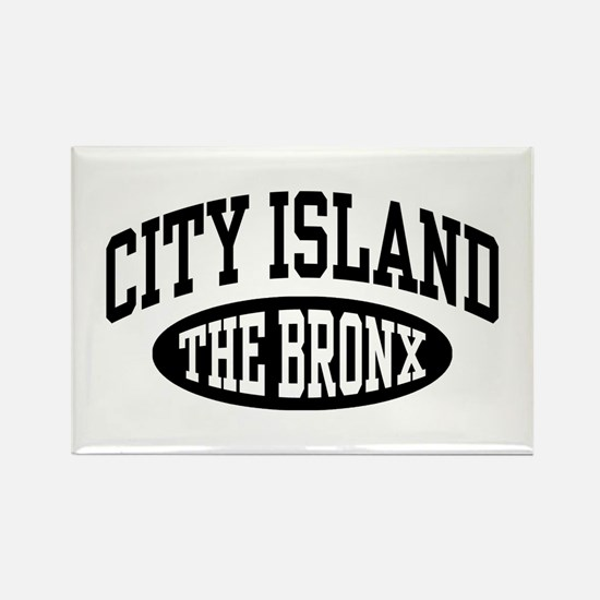 City Island The Bronx Rectangle Magnet