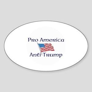 Pro America, anti trump Sticker
