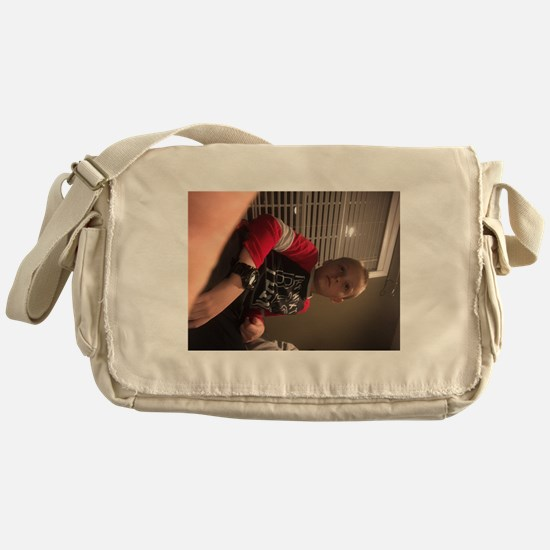 Kids are the reason we are here Messenger Bag