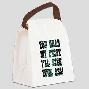 YOU GRAB... Canvas Lunch Bag