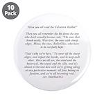 "Velveteen Holiday 3.5"" Button (10 pack)"