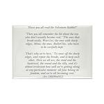 Velveteen Holiday Rectangle Magnet (100 pack)