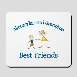 Alexander & Grandma - Best Fr Mousepad
