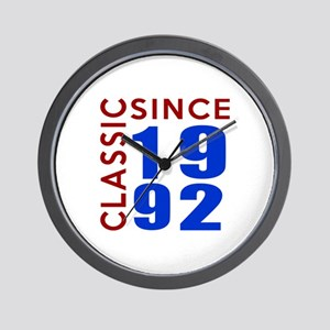 Classic Since Classic Since 1992 Birthd Wall Clock