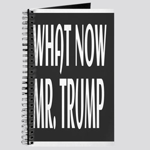 WHAT NOW MR.TRUMP Journal