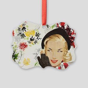 Vintage Blonde Ornament
