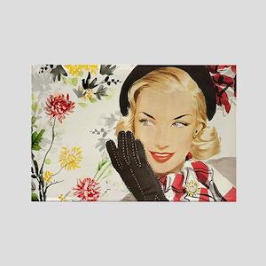 Vintage Blonde Magnets