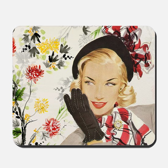 Vintage Blonde Mousepad