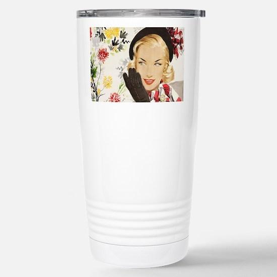 Vintage Blonde Travel Mug