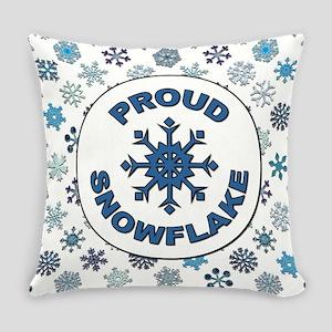 PROUD SNOWFLAKE Everyday Pillow