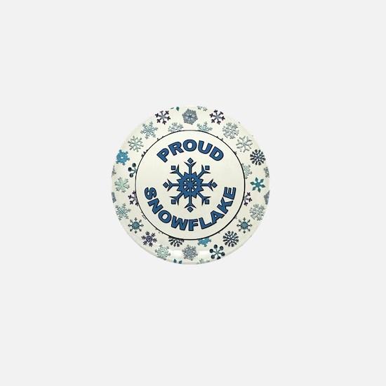 PROUD SNOWFLAKE Mini Button
