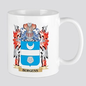 Burgess Coat of Arms - Family Crest Mugs