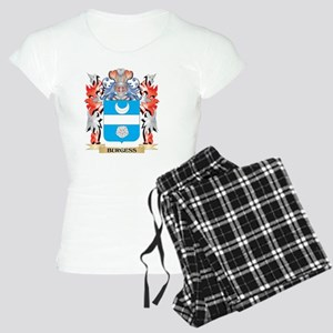 Burgess Coat of Arms - Family Crest Pajamas