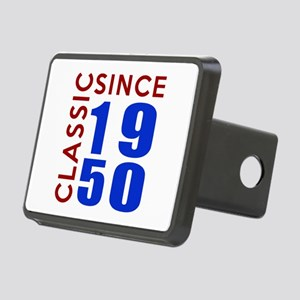Classic Since 1950 Birthda Rectangular Hitch Cover
