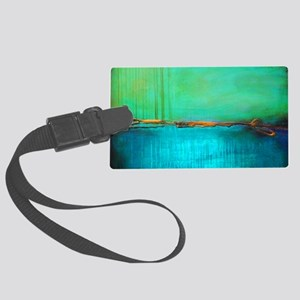 ROTHKO YELLOW GREEN TURQUOISE Luggage Tag