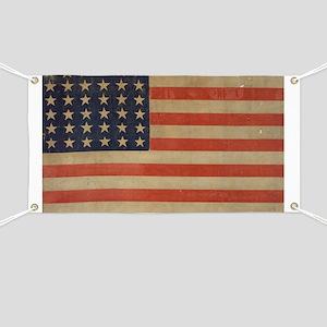 Vintage U.S. Flag (36 Star) Banner