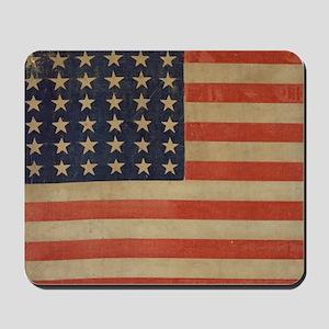 Vintage U.S. Flag (36 Star) Mousepad