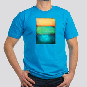 ROTHKO YELLOW GREEN TURQUOISE T-Shirt