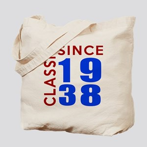 Classic Since 1938 Birthday Designs Tote Bag