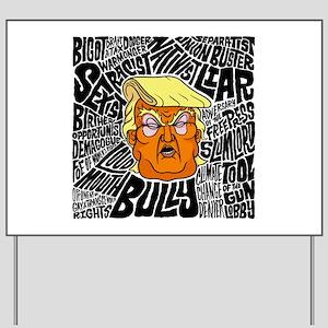 Trump Slurs Yard Sign