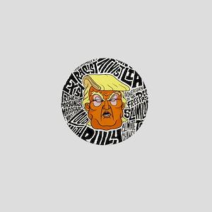 Trump Slurs Mini Button