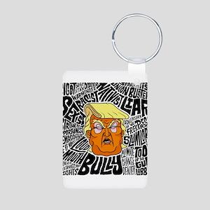 Trump Slurs Keychains