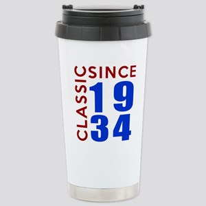 Classic Since 1934 Birt Stainless Steel Travel Mug