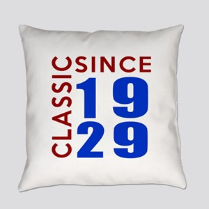 Classic Since 1929 Birthday Design Everyday Pillow