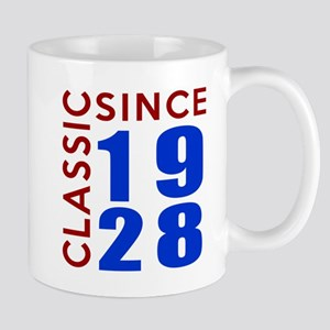 Classic Since 1928 Birthday Designs Mug