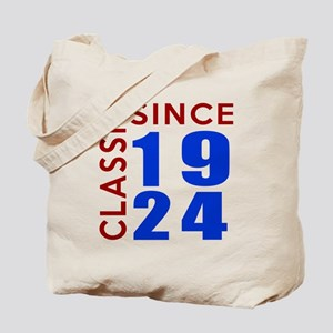 Classic Since 1924 Birthday Designs Tote Bag