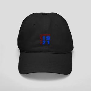 Classic Since 1921 Birthday Designs Black Cap
